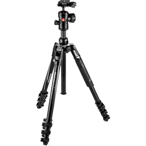 Befree Advance Aluminum 4-Section Kit Black w/ FREE Element 5 Section Monopod Black