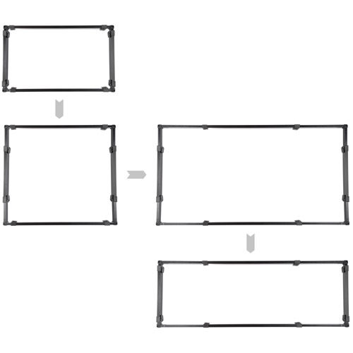 Ultimate 4 Versatile Fixture Bundle with 2x 1K1 + 1x 4K2 LED Sets