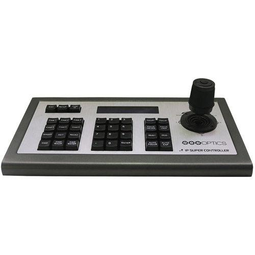 IP Joystick Controller, 3rd Gen. Visca (PoE Capabl & Power Supply)