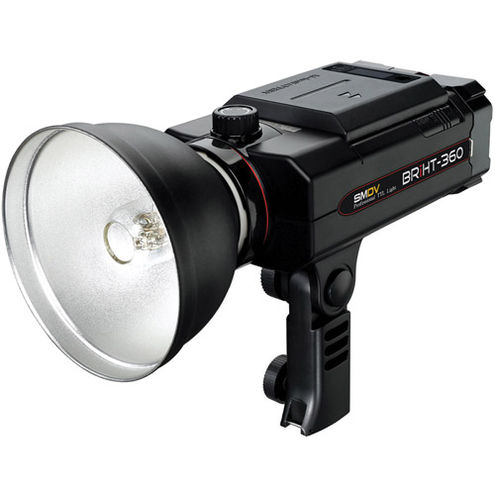 BRiHT-360 TTL Lithium-Ion Self Contained Flash With Tele Reflector & 120mm Honeycomb Grid