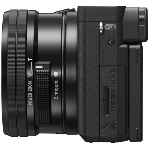 Alpha A6400 Mirrorless Black Kit w/ SEL 16-50mm Power Zoom Lens