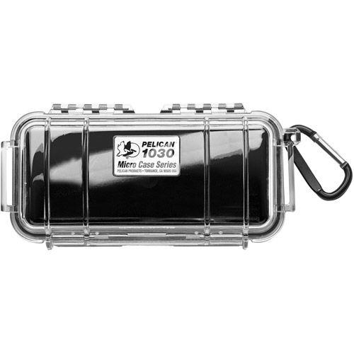 1030 Micro Case - Solid Black with Black Lining