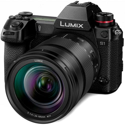 Lumix DC-S1 Mirrorless Kit w/ Lumix S 24-105mm f/4.0 Macro OIS L-Mount Lens