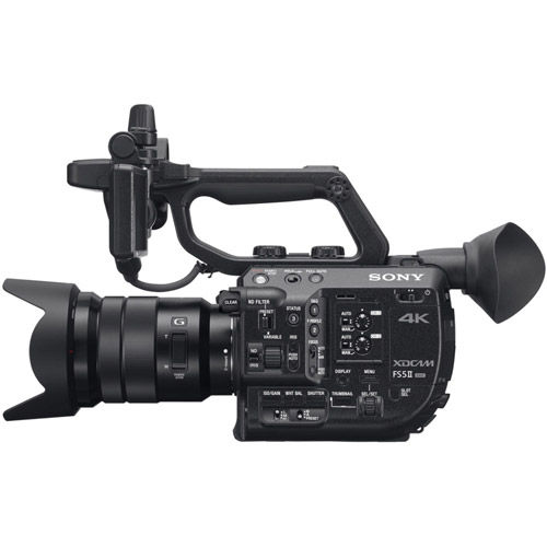 PXW-FS5M2 4K XDCAM Super 35mm Compact Camcorder w/ BP-U70 Lithium-Ion Battery