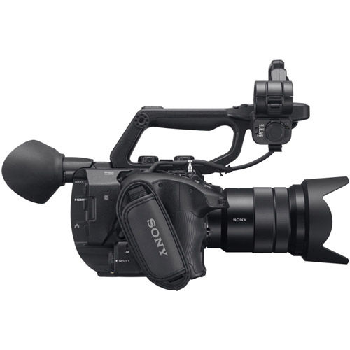 PXW-FS5M2K 4K XDCAM Super 35mm Compact Camcorder w/ E PZ 18-105mm F4 G OSS Lens w/BP-U60 Battery