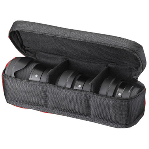 LS-302S1A Lens Case for DCDN f/1.4 Lenses (holds 3 lenses)