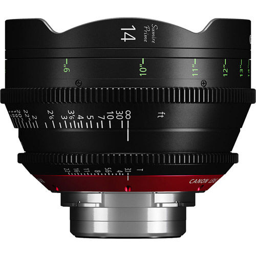 CN‐E14mmPLT3.1Sumire  Prime Lens PLMount