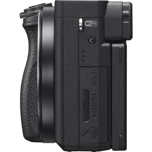 Alpha A6400 Mirrorless Black Kit w/ SEL 16-50mm PZ & SEL 55-210mm Lenses