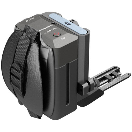 Side Focus Handle with R/S (F970 Battery) for BMPCC4K - Tilta Gray