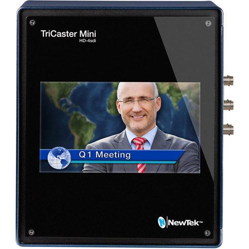 TriCaster Mini Advanced HD-4 sdi Bundle  includes TriCaster Mini HD-4 sdi (w/ Integrated D