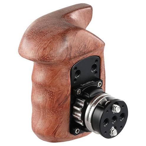Right Side Wooden Grip with Arri Rosette Bolt-On Mount