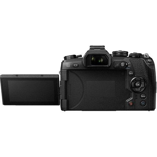 OM-D E-M1 Mark II Mirrorless Kit Black w/ M.Zuiko ED 12-200mm f/3.5-6.3 Lens
