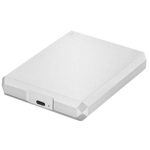 4TB USB 3.1 Type-C Mobile Drive (Moon Silver)