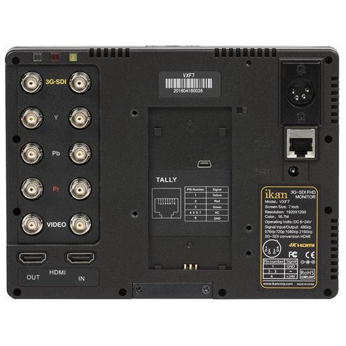 "VXF7 7"" Full HD HDMI / 3G-SD On- Camera Monitor"