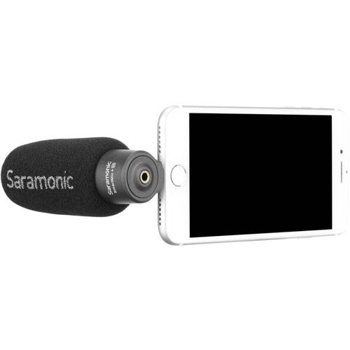 SmartMic+Di Lightweight Smartphone Microphone with Lightning Connector for iOS Devices