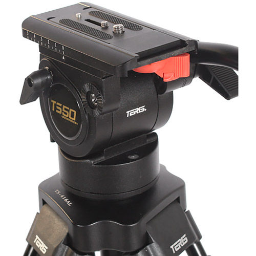 TS50AL Fluid Head & Tripod Kit