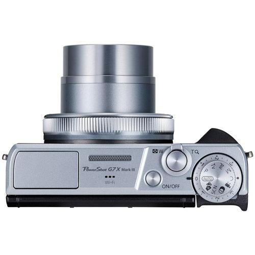 PowerShot G7 X Mark III -  Silver