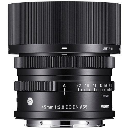 Contemporary 45mm f/2.8 DG DN Lens for Panasonic L-Mount