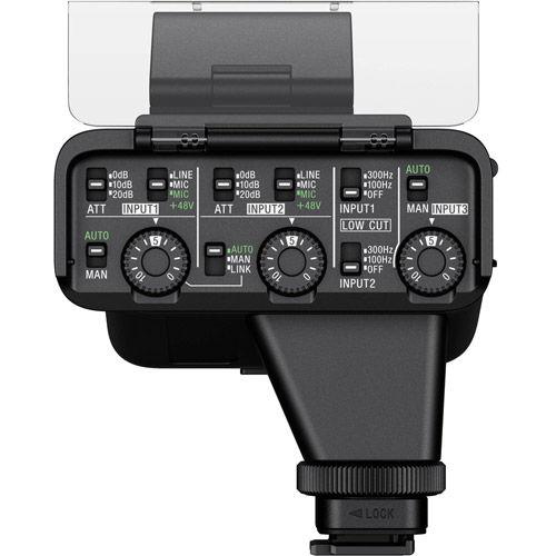 XLRK3M XLR Adaptor Kit w/ Mic for A7RIV, A7SIII