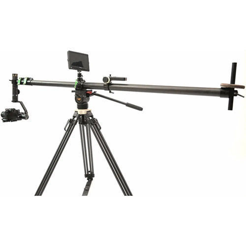 Crane 2 Kit w/Teris TS50AL Fluid Head  & Tripod  Kit w/JQ40 CF Mini Jib and Motion Sensor Remote