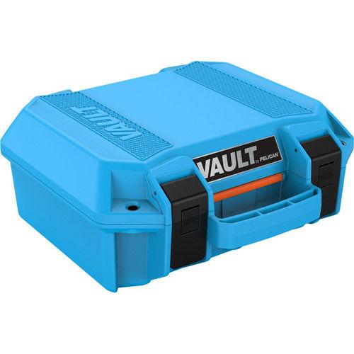 Vault V100 Small Case w/ Foam Insert (Blue)