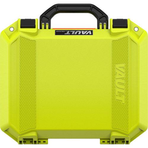 Vault V200 Medium Case w/ Foam Insert (Bright Green)