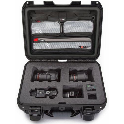 920 Case w/ Sony A7 Custom Foam & Lid Organizer - Black