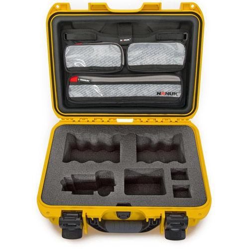 920 Case w/ Sony A7 Custom Foam & Lid Organizer - Yellow
