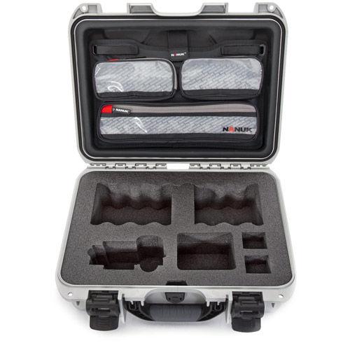 920 Case w/ Sony A7 Custom Foam & Lid Organizer - Silver