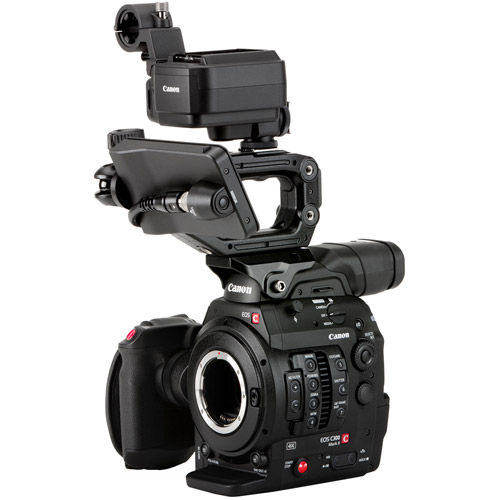 Cinema EOS C300 Mark II Camcorder Body with Touch Focus Kit (EF Mount)