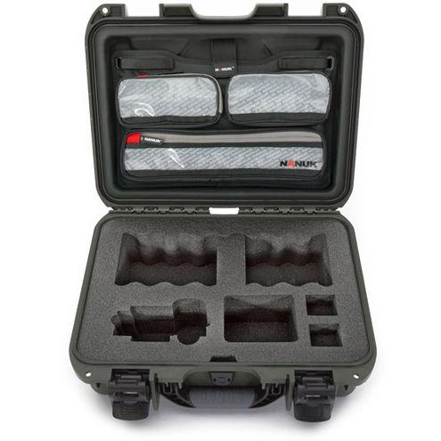 920 Case w/ Sony A7 Custom Foam & Lid Organizer - Olive