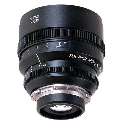 APO HyperPrime CINE 25mm T/2.1, 50mm T/2.1 and 85mm T/2.1 Lens Set for PL Mount