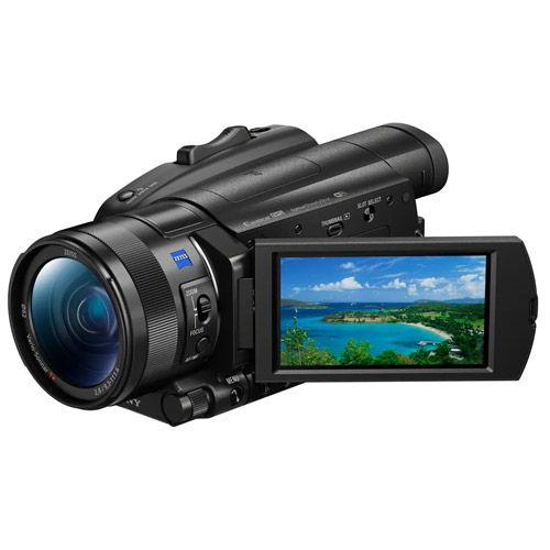 FDRAX700 4K Handycam Camcorder w/ Free NPFV70A Battery