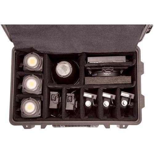 Forza 60 x 3, Refl x 3, FL-11 Lens w 'bdr x 1 3 HD Kit with Case