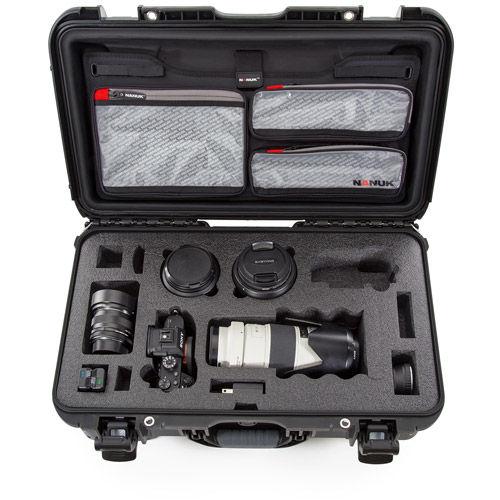 935 Case w/ Sony A7 Custom Foam & Lid Organizer - Black