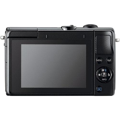 EOS M100 Mirrorless Camera with 15-45 Kit Black