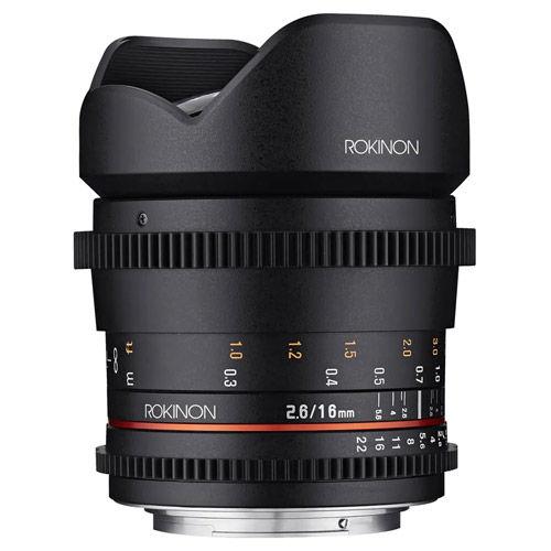 Cine DS 16mm T2.6 Cine Lens for Canon EF-S