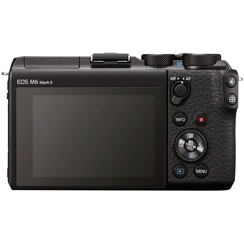 EOS M6 Mark II w/ 18- 150mm Lens and EVF-DC2 Viewfinder (Black)