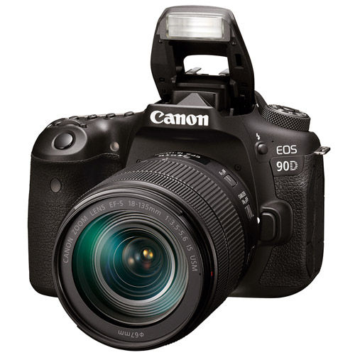 EOS 90D With EF-S18-135mm f/3.5-5.6  Lens