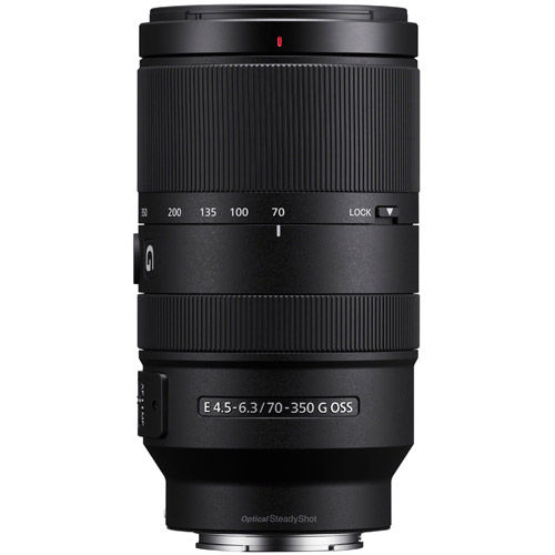 SEL 70-350mm f/4.5-6.3 G OSS E-Mount Lens
