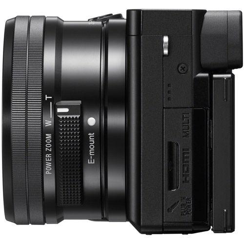 Alpha A6100 Mirrorless Kit w/ SEL 16-50mm PZ Lens