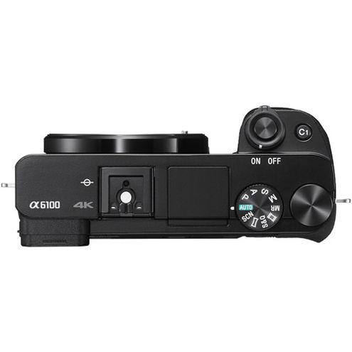 Alpha A6100 Mirrorless Black Kit w/ SEL 16-50mm Power Zoom Lens