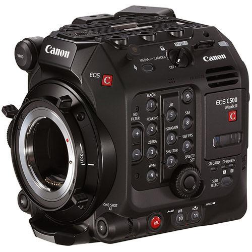 EOS C500 Mark II EF Cinema Camera