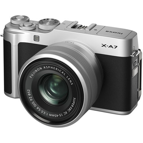 X-A7 Mirrorless Kit Silver w/ XC 15-45mm f/3.5-5.6 OIS PZ Lens