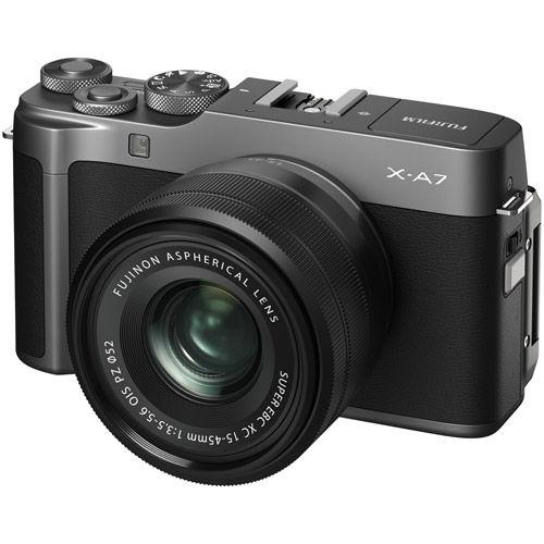 X-A7 Mirrorless Kit Dark Silver w/ XC 15-45mm f/3.5-5.6 OIS PZ Lens