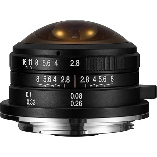 4mm f/2.8 Circular Fisheye mFT Mount Manual Focus Lens