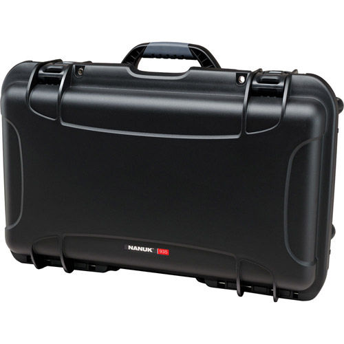 935 PRO PHOTO KIT Case - w/ Dividers and Lid Organizers - Black