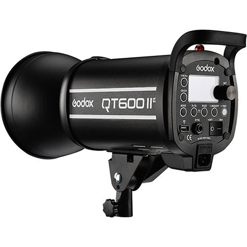 QTII Flash (Bowens Mount) 600ws 2.4G Build-in Receiver, Recycle time 0.05-0.7s, MASK Function,