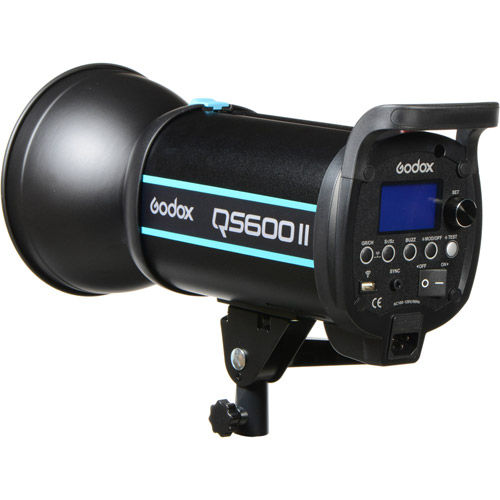 QS II Flash (Bowens Mount) 600ws 2.4G Build-in Receiver, Recycle time 0.05-1.5s
