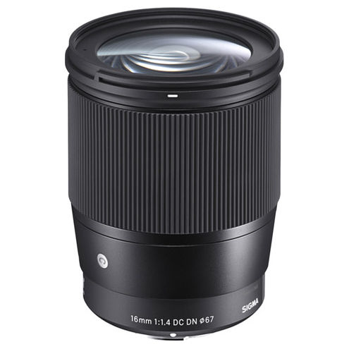 Contemporary 16mm f/1.4 DC DN Lens for EF-M Mount